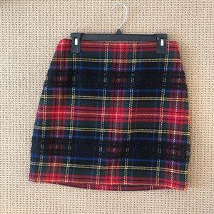 J.Crew Tartan Skirt